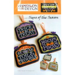 SIGNS OF THE SEASON FRIGHT THIS WAY Hands on Design