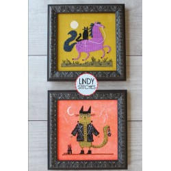 HALLOWEEN TAILS Lindy Stitches