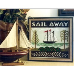 SAIL AWAY By The Bay Needleart