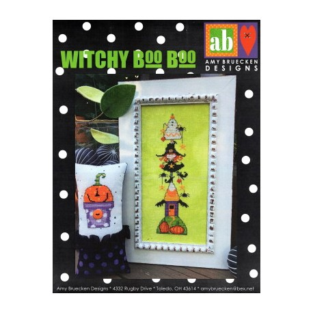 WITCHY BOO BOO Amy Bruecken Designs