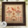 RED BIRD SAMPLER With Thy Needle and Thread