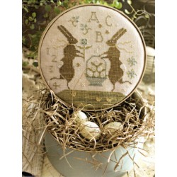 SPRING FROLIC AT BUNNY HILL With Thy Needle and Thread