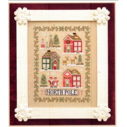 GREETINGS FROM THE NORTH POLE Country Cottage Needlworks
